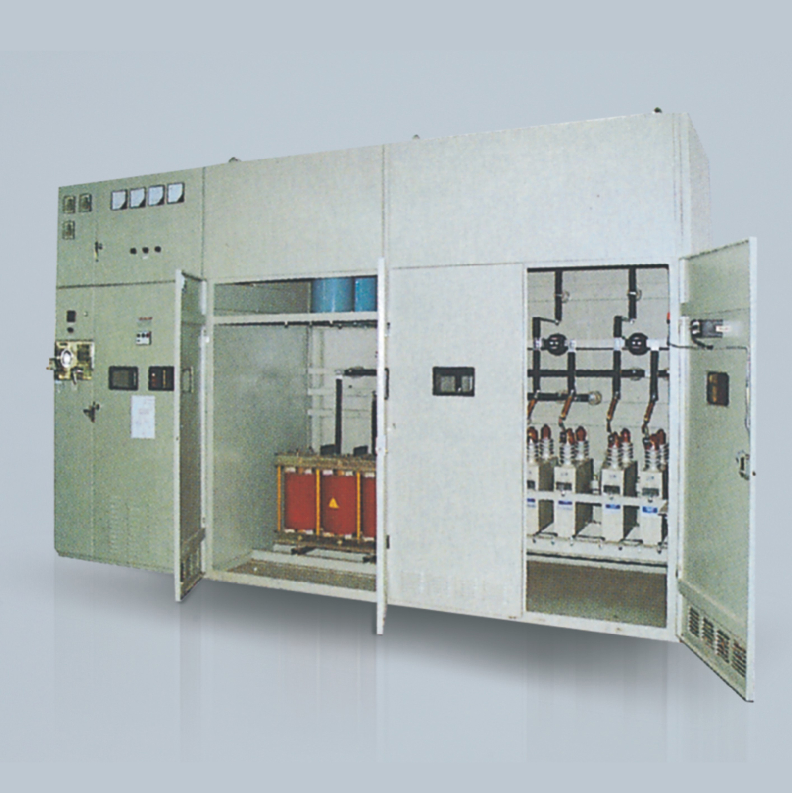 TBB High voltage shunt capacitor compensating switchgear