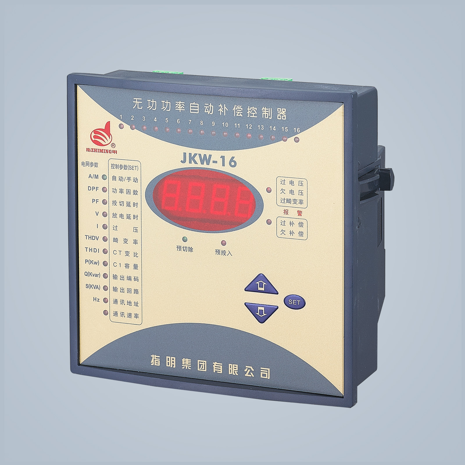 JKW-16 Series Reactive power auto-compen sation controller