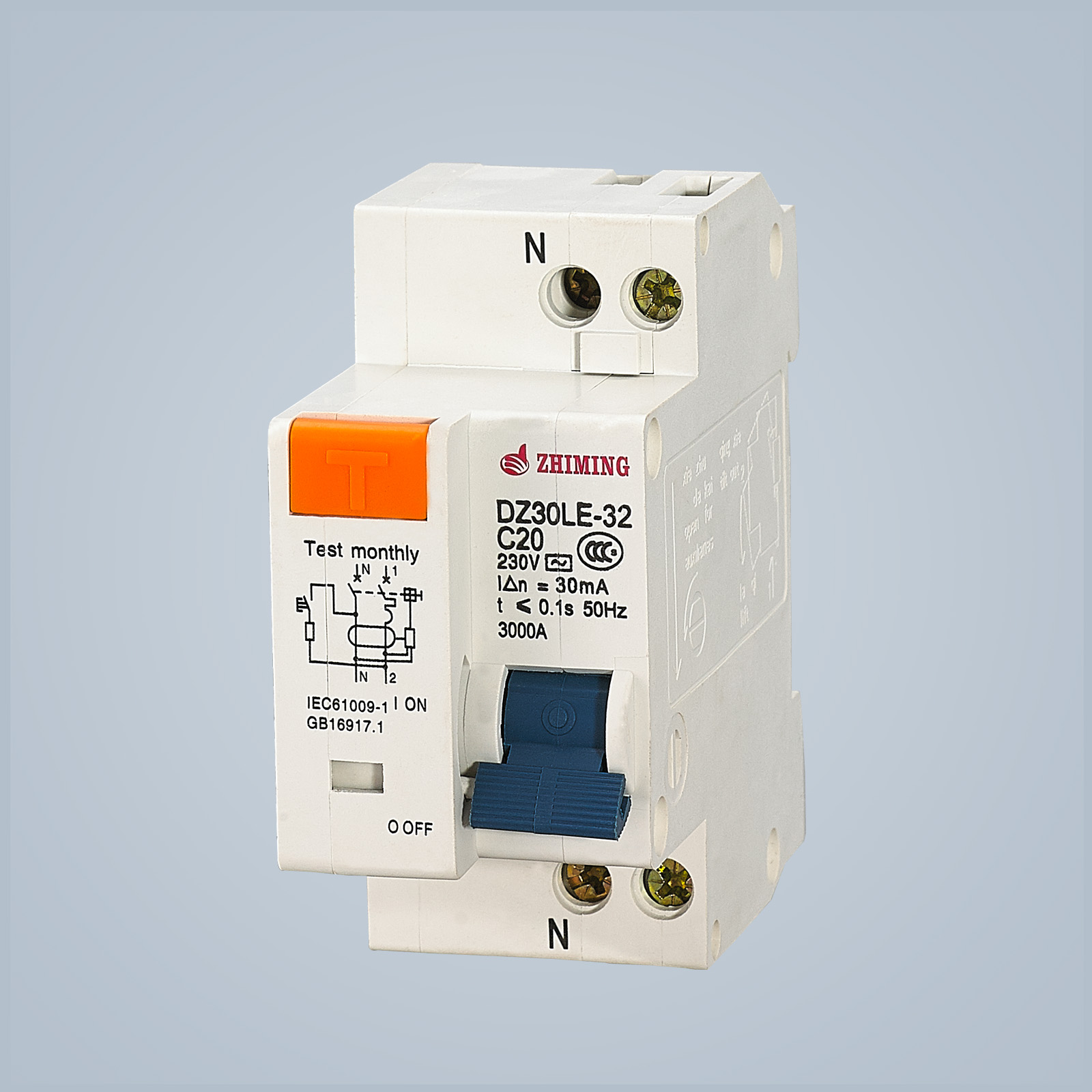 DZ30LE-32 Residual Current Operated Circuit Breaker