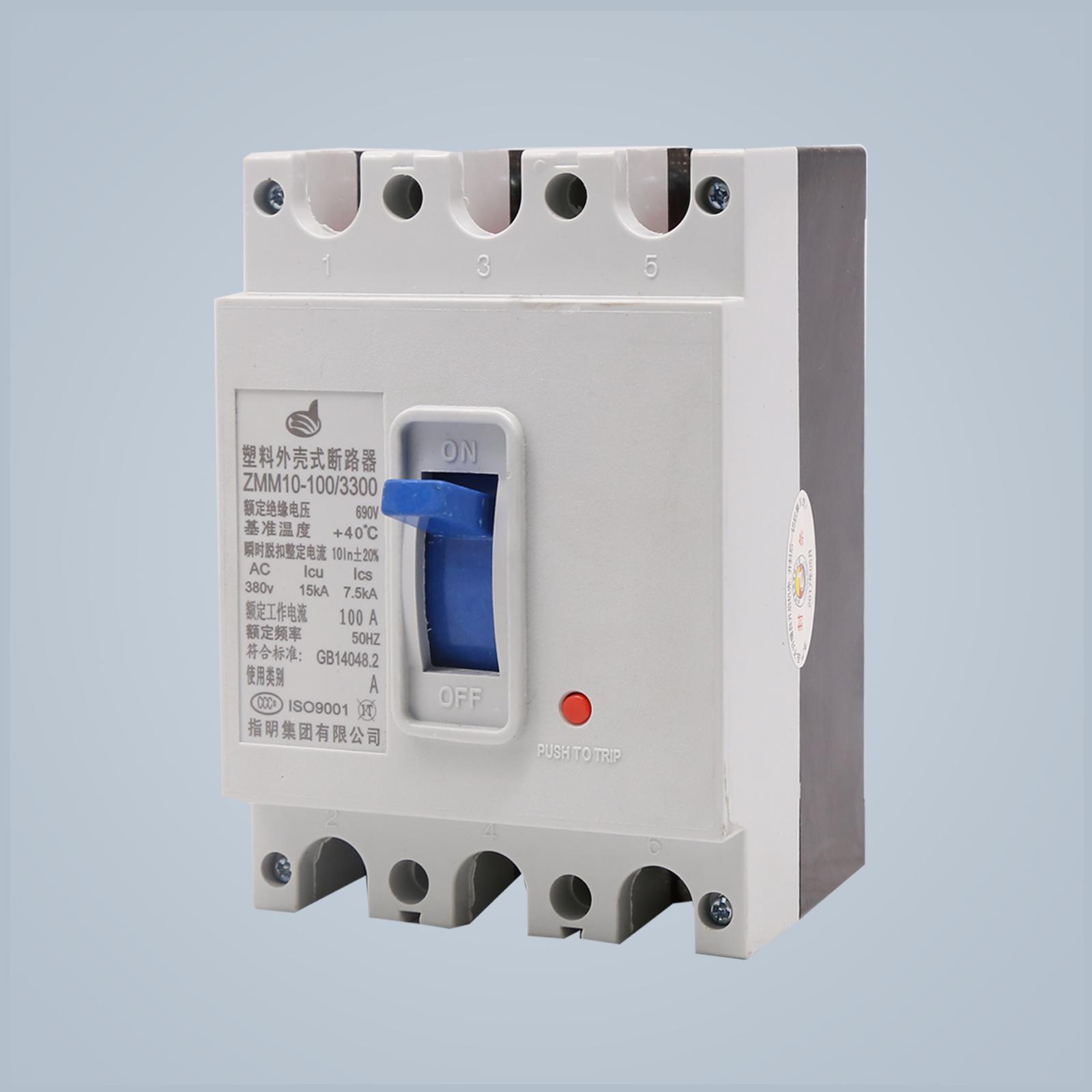 ZMM10 Molded Case Circuit Breaker ZHIMING GROUP CO LTD